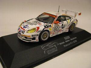ONYX/VITESSE XLM028 PORSCHE 911 GT3R LE MANS 1999 #80 1/43EME