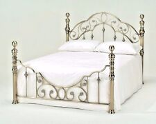 LAVISH FLORENCE TRADITIONAL ANTIQUE BRASS BED FRAME IN KING SIZE(5ft)*FREE P&P**