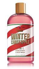Bath & Body Works Christmas 2-IN-1 Bubble Bath & Body Wash | Winter Candy Apple