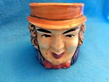 Toby face mug/cup vintage Japan Colonial gentleman hat 3.5 inches