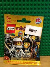 LEGO 8683 SERIES 1 SEA DIVER BRAND NEW SEALED