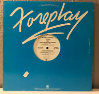 "March 1981 FOREPLAY A&M Compilation Promo - 12"" Vinyl Record LP - EX"