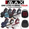Big Max Dri-Lite HYBRID Tour 14-WAY Golf Stand Bag - NEW! 2021 *ALL COLOURS*