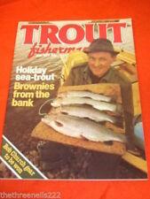 July Trout Fisherman Fishing Sports Magazines