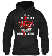 Father And Daughter - It Is Not Flesh & Blood But The Gildan Hoodie Sweatshirt