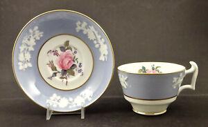 Vintage Spode Copeland Tea Cup & Saucer, Maritime Rose