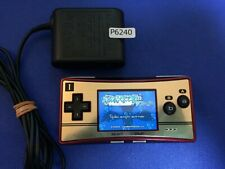 P6240 Nintendo Gameboy Micro GAMEBOY Console 20th Anniversary GBM w/Ac cable
