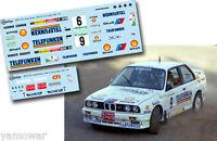 C134 Decal 1:43 Josep Bassas - BMW M3 - Rally El Corte Ingles 1987