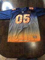 Vintage Fubu Blue And Orange Jersey 05 XL Extra Large Sport
