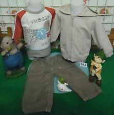 vêtements occasion garçon 12 mois,sweat MARESE,gilet,pantalon