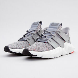 Adidas Prophere Grey White Red Mens' Running training Shoes Cq3023