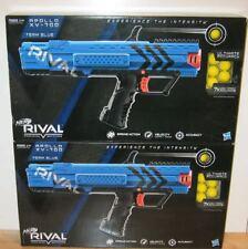 Lot of 2 Nerf Rival Apollo XV-700 Blasters Toy Blaster Gun Two Team Blue NEW