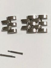 AUTHENTIC FRANCK MULLER Watch Band LINK Stainless Steel 12mm Ladies 3 Extra