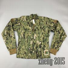 NWT NWU Type III Navy Seal AOR2 Digital Inclement Weather Combat Shirt size SR