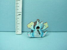"Dollhouse Miniature Bird House ""Let's Do Lunch"" Cat Design Laser Cut 1/12th"
