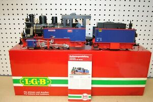 LGB 20261 Nicki Frank S 0-6-0 Steam Locomotive & Tender *G-Scale*