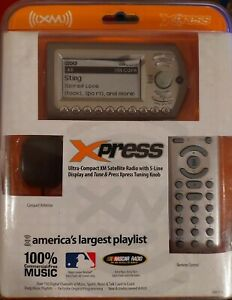 XM Xpress Satellite Radio Receiver with Vehicle Kit. New in Original packaging