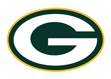 Green Bay Packers 2 PACK NFL Decal Sticker - You Choose Size - FREE SHIPPING