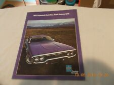 1967 1968 1969 1970 PLYMOUTH GTX ROAD RUNNER SATELLITE BELVEDERE KEYCHAIN MAGENT