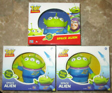 TOY STORY GLOW IN THE DARK SPACE ALIEN FIGURE SET PIZZA PLANET LITTLE GREEN MEN