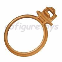 GI Joe Destro's Despoiler GUN RING (Flat Gold) mount Vtg part 1988 g.i