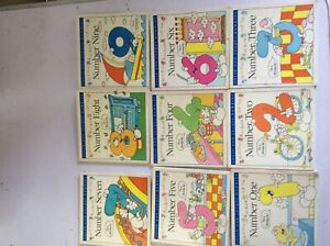 CHILDRENS NUMBER BOOKS.COLIN AND JACQUI HAWKINS