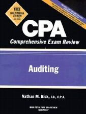 CPA Comprehensive Exam Review: Auditing 1998-1999 (Vol 3) Bisk, Nathan M. Paper