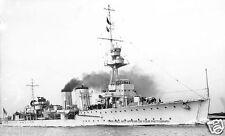 ROYAL NAVY C CLASS LIGHT CRUISER HMS CARADOC