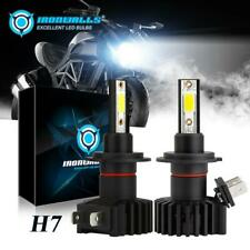 IRONWALLS H7 LED Headlight Bulbs for Yamaha YZF-R6 03-15 YZF-R1 07-14 Motorcycle