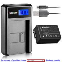 Kastar Battery LCD Charger for Panasonic DMW-BMB9 DMW-BMB9E DMW-BMB9PP Battery