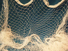 Authentic Fishing Net, Fish Netting Light Weight One Inch Hole 12' x 8'