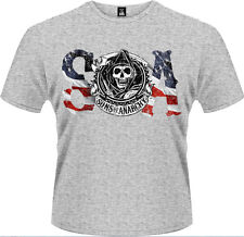 Sons Of Anarchy - Flag T-Shirt Homme / Man - Taille / Size XXL PLASTIC HEAD