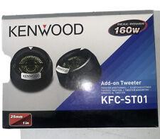 Kenwood Kfc-St01 Add-On Car Dome Tweeters 160 Watts New