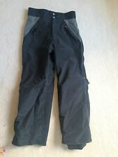 Youth XL 14-16 snowboard pants padded knees WATERPROOF Buckhill Black boys girls