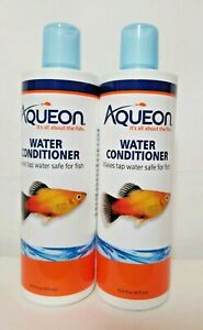 LM Aqueon Water Conditioner 16 oz Makes tap water safe for fish Water Treatment