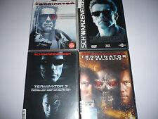 DVD - Terminator 1-4 1 4 1+2+3+4 Sammlung