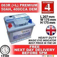 Lucas LP027 EB620 Exide Excell Car Battery 027SE Equivalent Battery