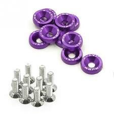 10 Set  Universal Modification JDM  Stickers Fender Washer License Plate Bolts.