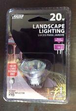 1 PACK - Feit Electric Landscape Light 20W 12 Volt G4 Flood Reflector Lamp Bulb