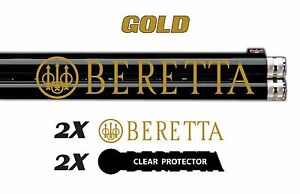 Beretta Vinyl Decal Sticker For Shotgun / Gun / Case / Gun Safe / Car / BR3B