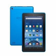 "Amazon Fire Tablet with Alexa, 7"" Display, 16 GB, Blue - with Special Offers"