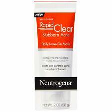 Neutrogena, Rapid Clear, Stubborn Acne, Daily Leave-On, 2 oz (56 g)