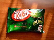Green tea chocolate kitkat japan popular sweets maccha matcha taste japanese