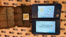 New Nintendo 3DS XL Galaxy edition with 1 zelda game and game carrying case