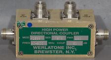 Werlatone C1569-10 30 dB 20-200 MHz 250 W Type-N Directional Coupler
