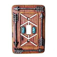 Western Lodge Cabin Decor Arrow Light Switch Cover Plate
