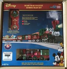 Lionel ~ 6-82716  Disney Mickey's Holiday to Remember Christmas Lionchief train