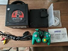 Nintendo GameCube Jet Black w/ Game Boy Player w/ disc, Super Smash Bros Melee