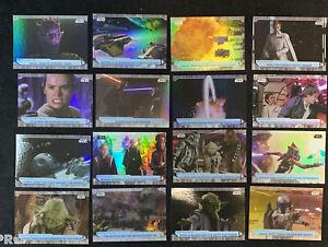 2021 Topps Star Wars Battle Plans 16 card foil lot (16) 🔥📈