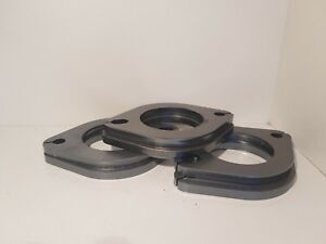 """FREE GASKETS - 6x 2.5"""" exhaust flanges 63MM 2 bolt Value Buy"""
